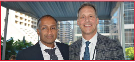 Dr. John Kuruvilla and Dr. Peter Anglin